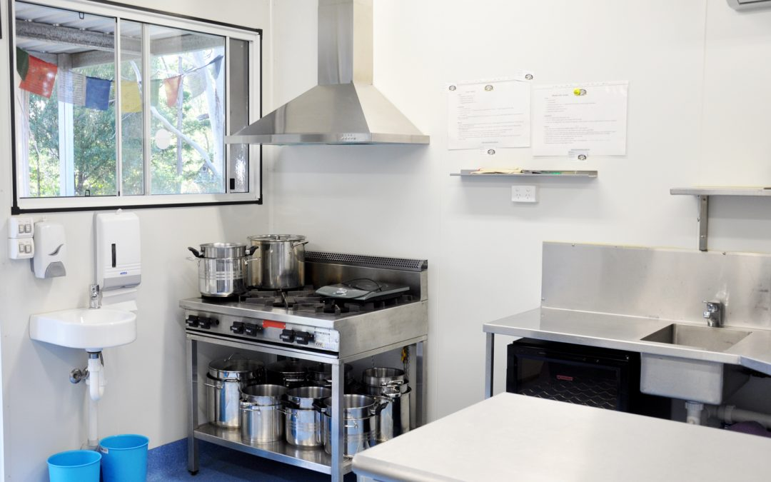 Easy Cheesy commercial kitchen